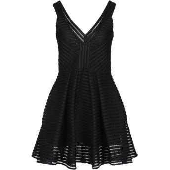 《セール開催中》PHILIPP PLEIN レディース ミニワンピース&ドレス ブラック XS ポリエステル 100%