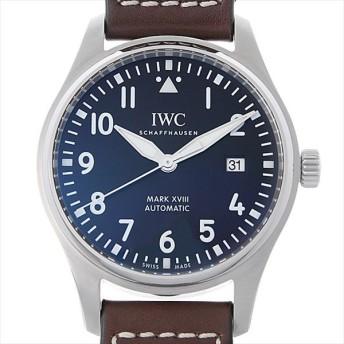48回払いまで無金利 IWC パイロットウォッチ マーク18 アントワーヌ・ド・サンテグジュペリ IW327003 中古 メンズ 腕時計