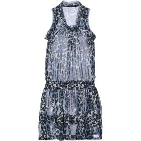 《期間限定セール開催中!》MANGANO レディース ミニワンピース&ドレス ブルー S/M ポリエステル 100%