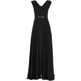 《セール開催中》MARY D'ALOIA レディース ロングワンピース&ドレス ブラック 42 ポリエステル 100%