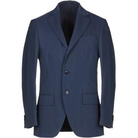 《期間限定セール開催中!》MP MASSIMO PIOMBO メンズ テーラードジャケット ブルー 50 コットン 55% / 麻 45%