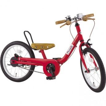 ケッターサイクル 16インチ 子供用自転車(ブルーミングレッド)