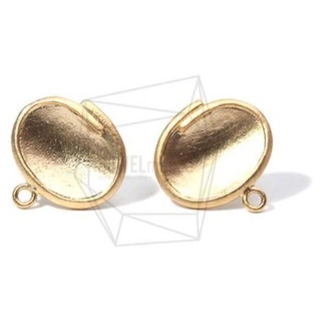 ERG-689-MG【2個入り】タイニーオーバルピアス,Tiny Oval Post Earring