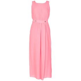 《セール開催中》LOVE MOSCHINO レディース ロングワンピース&ドレス ピンク 42 アセテート 65% / シルク 35%