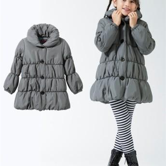 後リボンAラインコート(女の子 子供服。ジュニア服) ジャンパー・コート・ベスト