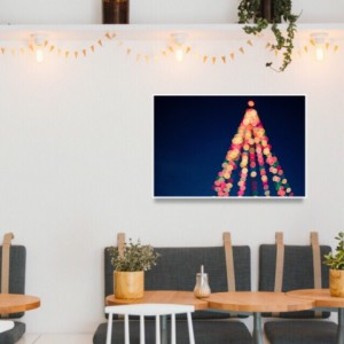 クリスマスツリー2 / 高画質写真ポスター【 北欧 / 雑貨 / インテリア / 壁掛け / アート / 飾り / クリスマス / おしゃれ 】
