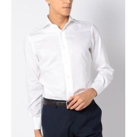 シップス SD:オックスフォード ホリゾンタルカラー シャツ(ホワイト) メンズ ホワイト 39 【SHIPS】
