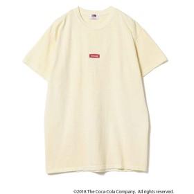 【30%OFF】 ビームス メン Coca Cola / Pigment Front Logo T shirt メンズ LTYELLOW S 【BEAMS MEN】 【セール開催中】
