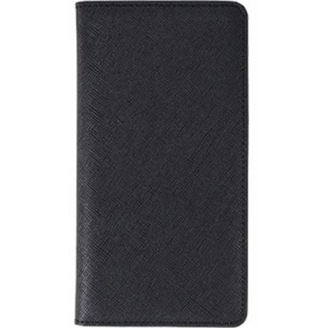 ec486ca47e 10000円以上送料無料 レイブロック iPhone X サフィアーノフリップケース ブラック LB10239i8(1
