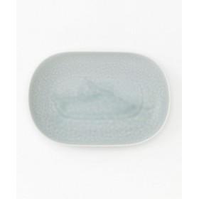 <yumiko iihoshi porcelain/ユミコイイホシポーセリン> ReIRABO oval plate M spring mint green 【三越・伊勢丹/公式】