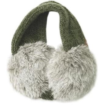 フォックスファイヤー(Foxfire) ボリューミーニットイヤーマフ Volume Knit Ear Muff フリーサイズ オリーブ 8322707 070 アウトドアウェア カジュアル 防寒