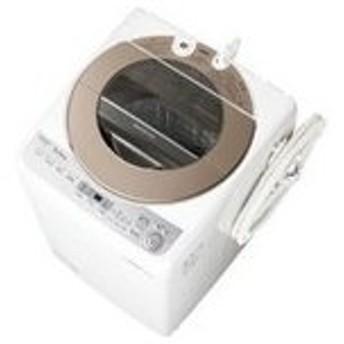 ES-GV10C-T シャープ 穴なし槽 10キロ 洗濯機