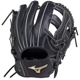 ミズノ(MIZUNO) 野球 軟式用グローブ グローバルエリート UMiX (右投げ用) サイズ10 ブラック 1AJGR18450 09 グラブ U4(内野×外野)