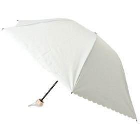 grove / グローブ 晴雨兼用スカラップドット折り畳み傘