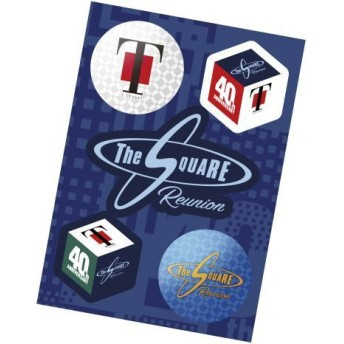 【T-SQUARE & THE SQUARE】40th ロゴステッカー