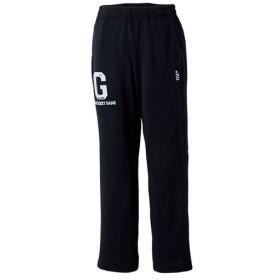 ゴーセン(GOSEN) テニス メンズ レディース スウェットパンツ ブラック UW1408 39 テニスウェア バドミントンウェア ロングパンツ トレーニングウェア