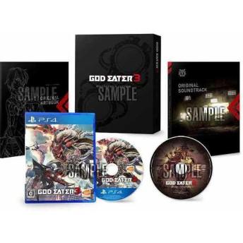 PS4 GOD EATER3 初回限定生産版 (セブンネット限定特典付き)