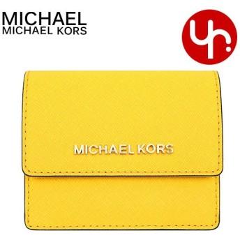 マイケルコース MICHAEL KORS 財布 コインケース 35F7GTVD2L シトラス ジェット セット レザー カード ケース ID キー ホルダー アウトレット レディース