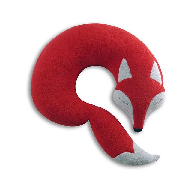 【德國 Leschi 萊思綺】旅行枕頭 / 午休枕頭 - 狐狸款 [LINE旅遊商城]
