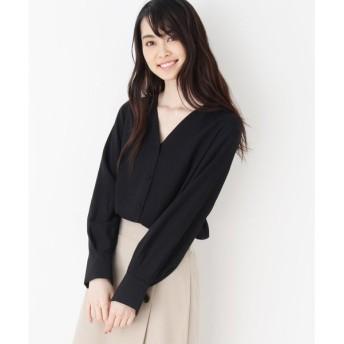 OPAQUE.CLIP / オペーク ドット クリップ 【洗える・42(LL)WEB限定サイズ】Vネックシャツ