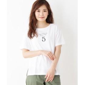 grove / グローブ SUGAR ROSE NO.5ロゴプリントTシャツ