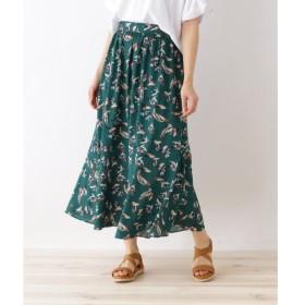 OZOC / オゾック フラワーマキシ丈スカート