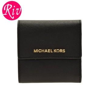 ポイント10% マイケルマイケルコース MICHAEL MICHAEL KORS 財布 三つ折り  アウトレット 35f8gtvd1l