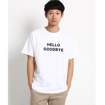 Dessin / デッサン ロゴフロッキーTシャツ