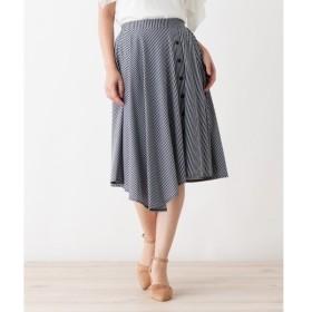 index / インデックス 【洗える】イレヘムストライプスカート