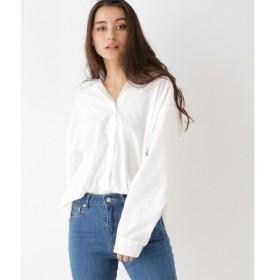 OZOC / オゾック 【洗える】ブロードストレッチオーバーサイズシャツ