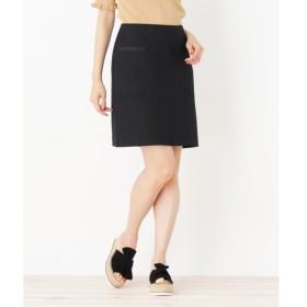 OPAQUE.CLIP / オペーク ドット クリップ 【洗える】グログランラインスカート