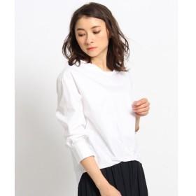Dessin デッサン 裾タックタイプライターシャツ