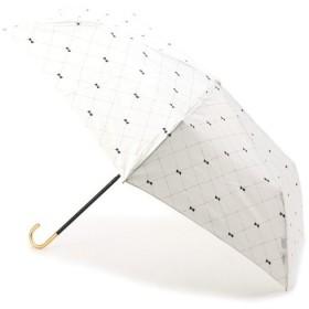 passage mignon / パサージュ ミニョン 【UVカット80%以上・雨晴兼用】クロスステッチリボン傘