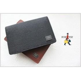【二年保証】吉田カバン ポーター カレント カードケース PORTER CURRENT 052-02207 名刺入れ 吉田かばん 正規品 プレゼント 女性 男性