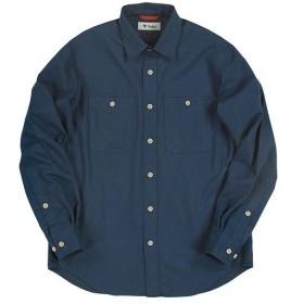 フォックスファイヤー(Foxfire) メンズ TSコーデュロイシャツ TS Corduroy Shirt ネイビー 5112838 046 アウトドアウェア カジュアル 長袖 トップス ロング
