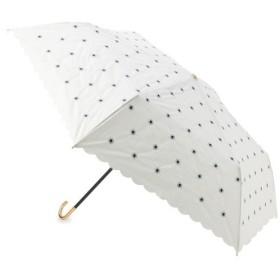 grove / グローブ デイジー刺繍折り畳み傘