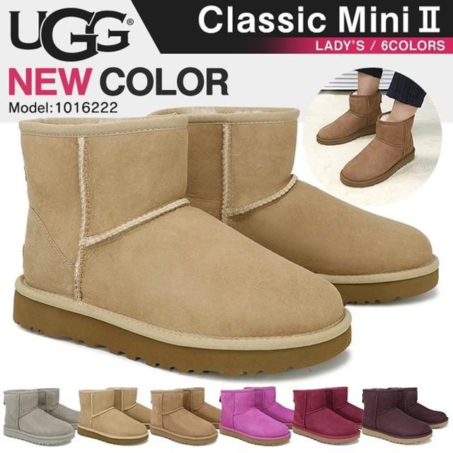 UGG アグ ムートン ブーツ CLASSIC MINI II レディース 1016222