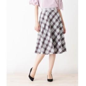 index / インデックス 【洗える】チェックフレアスカート