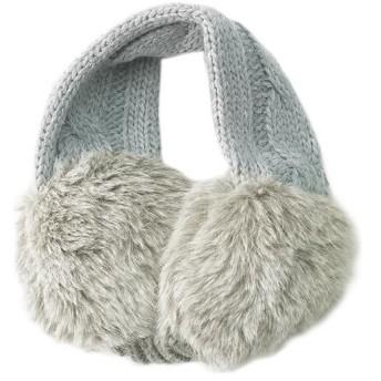 フォックスファイヤー(Foxfire) ボリューミーニットイヤーマフ Volume Knit Ear Muff フリーサイズ ライトグレー 8322707 021 アウトドアウェア カジュアル