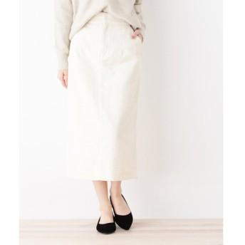 OPAQUE.CLIP / オペーク ドット クリップ 【洗える】コーデュロイタイトスカート