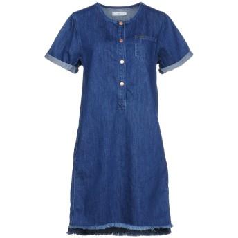《9/20まで! 限定セール開催中》LEE レディース ミニワンピース&ドレス ブルー XS コットン 100%