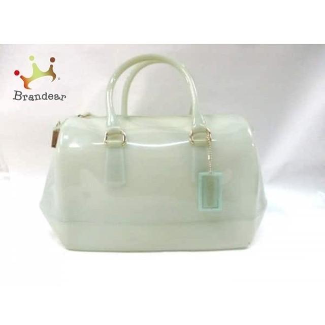 0eb742a9e8b6 フルラ FURLA ハンドバッグ キャンディバッグ グリーン PVC(塩化ビニール) スペシャル特価 20190406