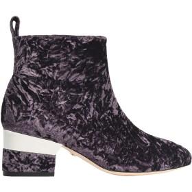 《期間限定 セール開催中》ISA TAPIA レディース ショートブーツ パープル 35.5 紡績繊維