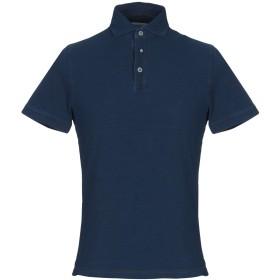 《期間限定セール開催中!》HERITAGE メンズ ポロシャツ ブルー 46 コットン 100%