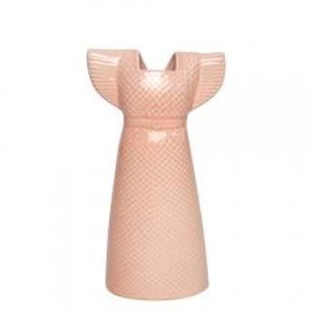 【5%OFFクーポン利用可能】リサ・ラーソン 花瓶 ドレス ピンク ワードローブ 1560407 リサ・ラーソン LisaLarson(Lisa Larson)Clothes /Wardrobe Dress 花器・フラワーベース・陶器置物・北欧・オブジ