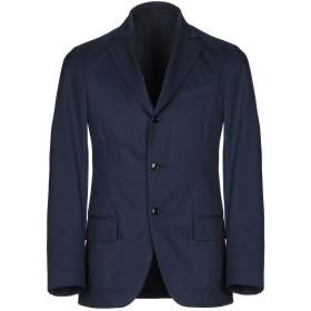 《セール開催中》MP MASSIMO PIOMBO メンズ テーラードジャケット ブルーグレー 48 コットン 100%