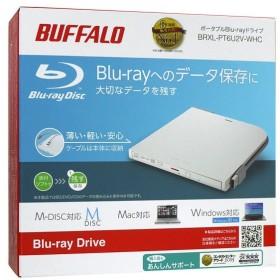 BUFFALO バッファロー 外付けブルーレイドライブ BRXL-PT6U2V-WHC 美品