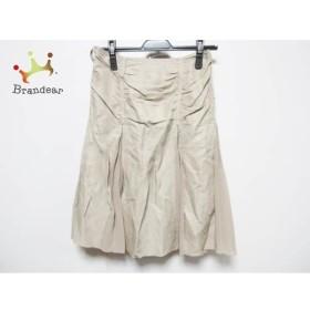 ボディドレッシングデラックス スカート サイズ36 S レディース ライトブラウン プリーツ                   スペシャル特価 20191029