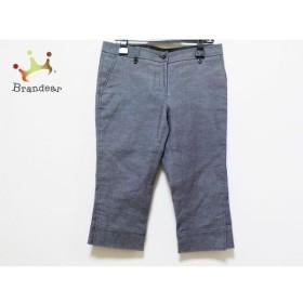オールドイングランド OLD ENGLAND パンツ サイズ38 M レディース 美品 ブルー 7分丈         スペシャル特価 20191029
