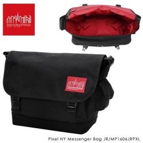 Manhattan Portage マンハッタンポーテージ Pixel NY Messenger Bag JR ピクセル ニューヨーク メッセンジャー バッグ MP1606JRPXL